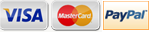 Visa Card & Mastercard Accepted, or PayPal